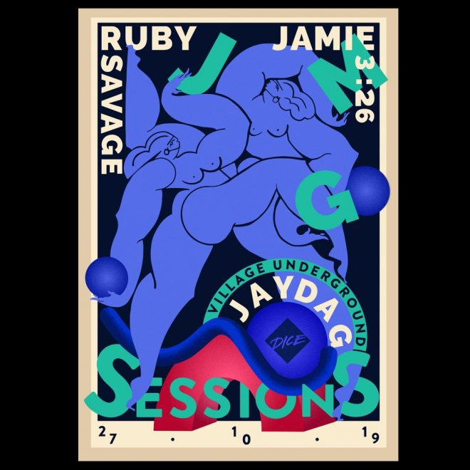 Jayda G announces JMG Session with Jamie 3:26 and Ruby Savage