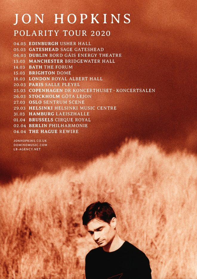 Jon Hopkins reveals new Polarity tour for 2020