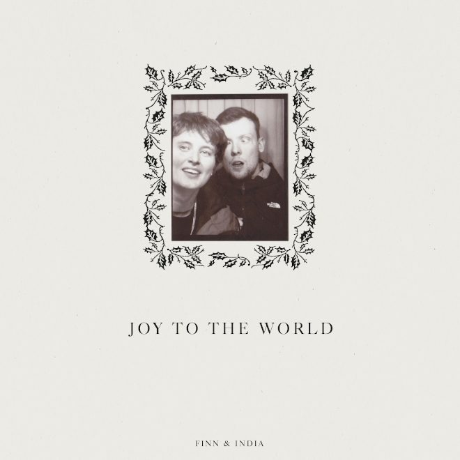 Finn and India Jordan bring 'Joy To The World' with Christmas mix
