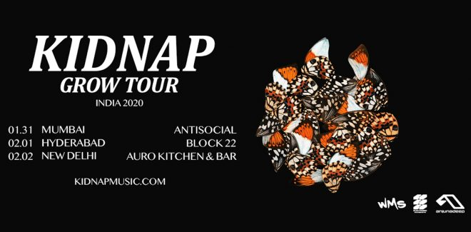 Kidnap is about to embark on a tour around India for the first time