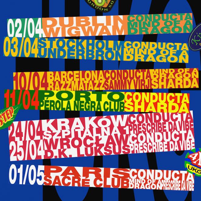 Kiwi Rekords announce EUKG tour