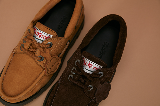 Kickers re-release their iconic Lennon Boat Shoe
