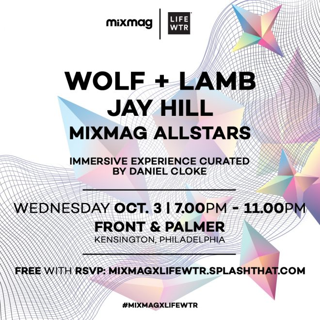 Mixmag and LIFEWTR bring Wolf + Lamb to Philadelphia for an immersive art and music experience