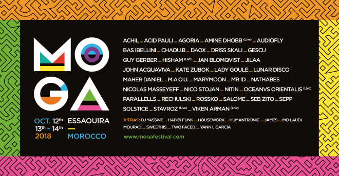 Morocco's Moga Festival completes lineup with Guy Gerber, Habibi Funk, Sepp