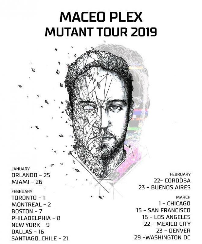 Maceo Plex to embark on three-month Mutant Tour in 2019