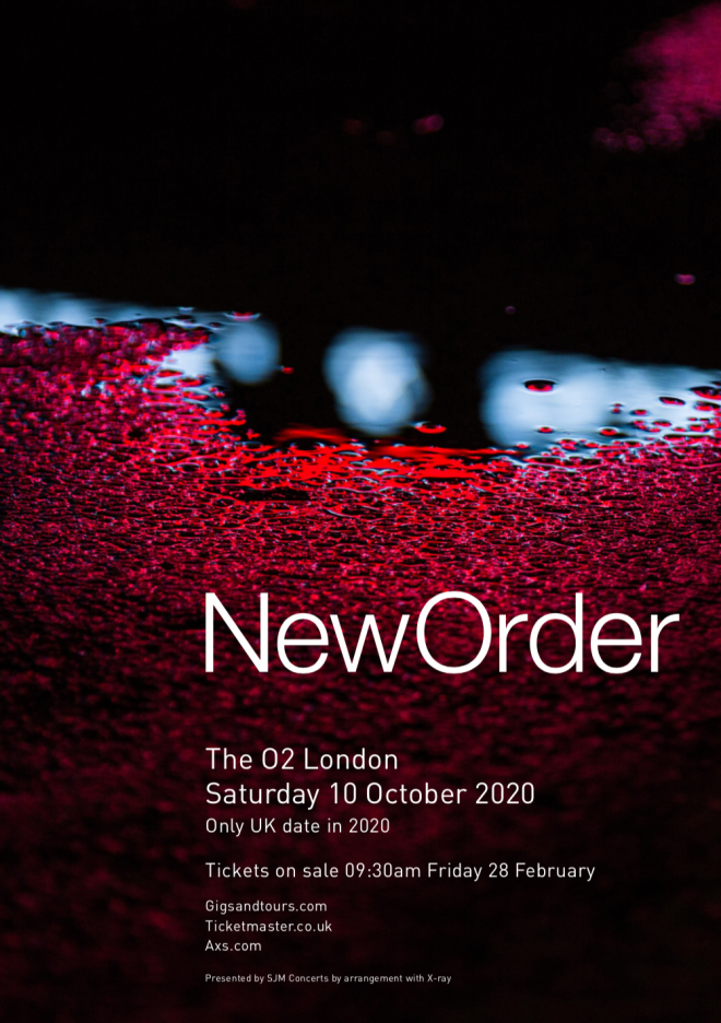 New Order have announced their only UK show of 2020