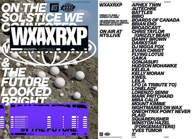 Warp celebrates its 30th anniversary with three-day NTS takeover