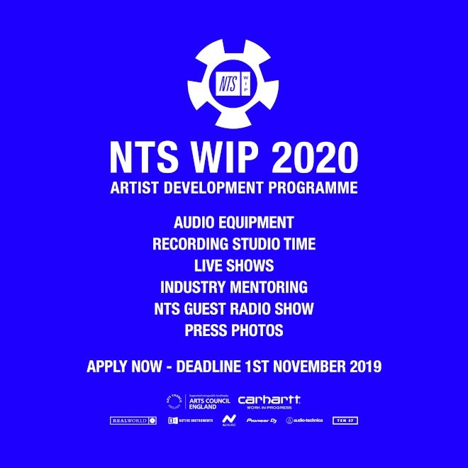 Applications for NTS' Work In Progress 2020 programme are open
