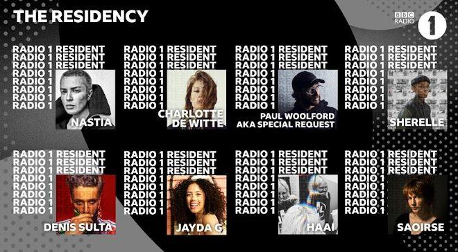 Nastia, Denis Sulta, Saoirse and Sherelle unveiled as new BBC Radio 1 residents
