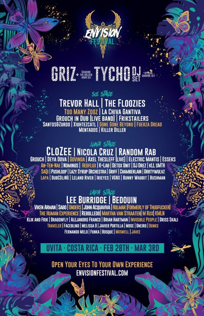 Costa Rica's Envision Festival taps Tycho, Bedouin and Lee Burridge
