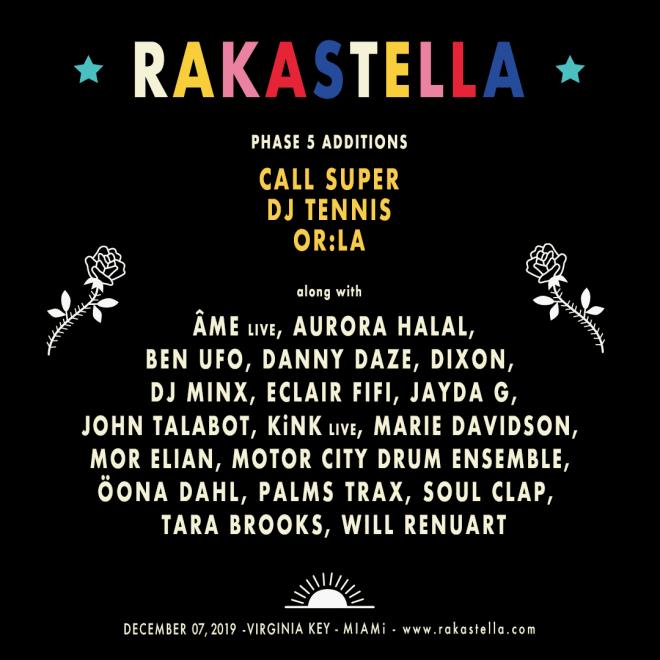 Miami's Rakastella unveils full line-up with Or:la, Ben UFO and more