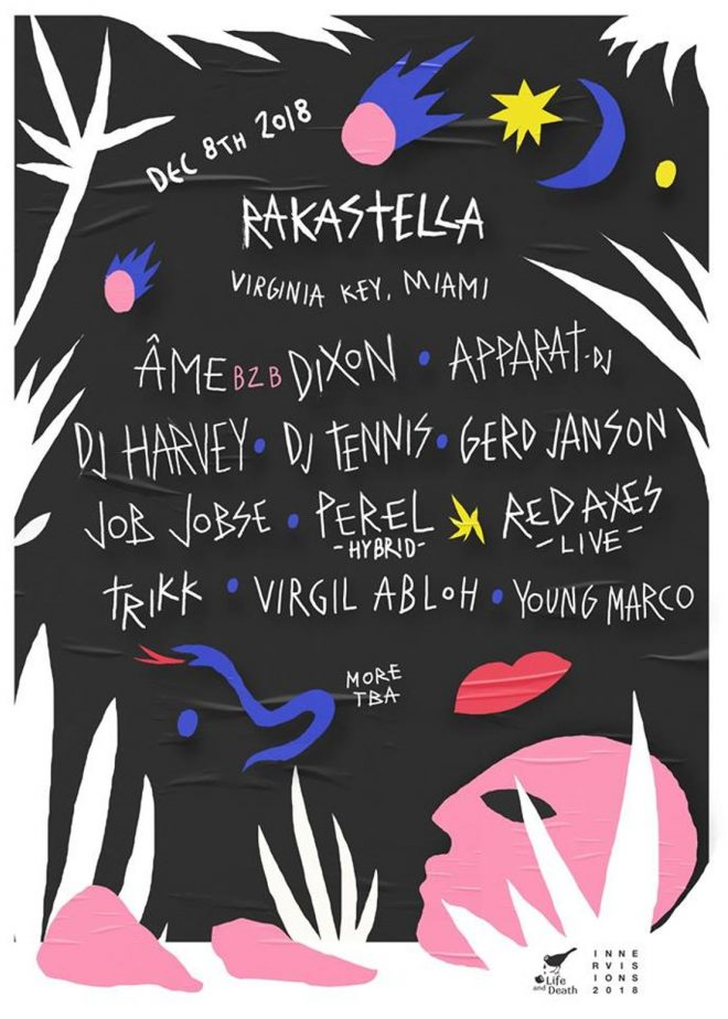 Gerd Janson, Perel and Young Marco join the lineup for Rakastella in Miami