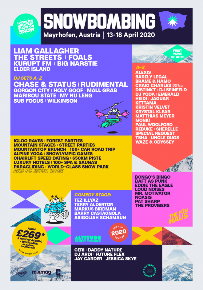 The Streets and Kurupt FM top bill for Snowbombing 2020