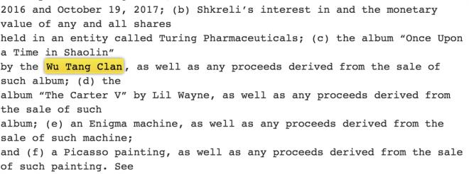 The Government Wants To Take Away Martin Shkrelis 2 Million Wu