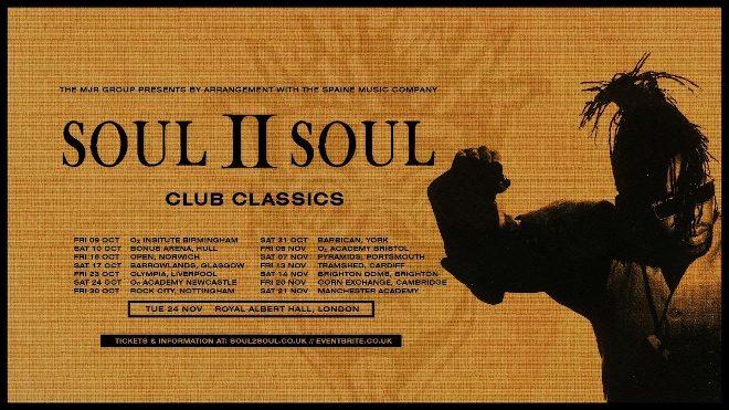 Soul II Soul will return for 2020 'Club Classics' tour
