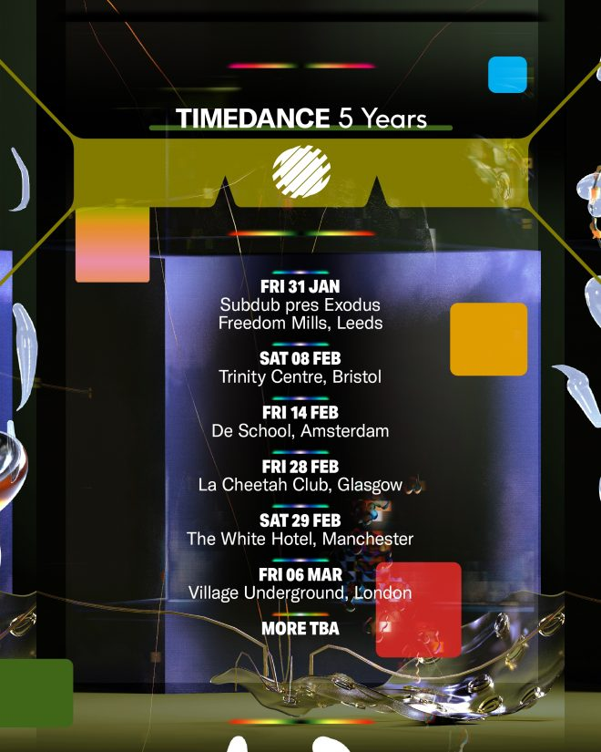 Timedance celebrates its fifth birthday with killer UK and EU tour