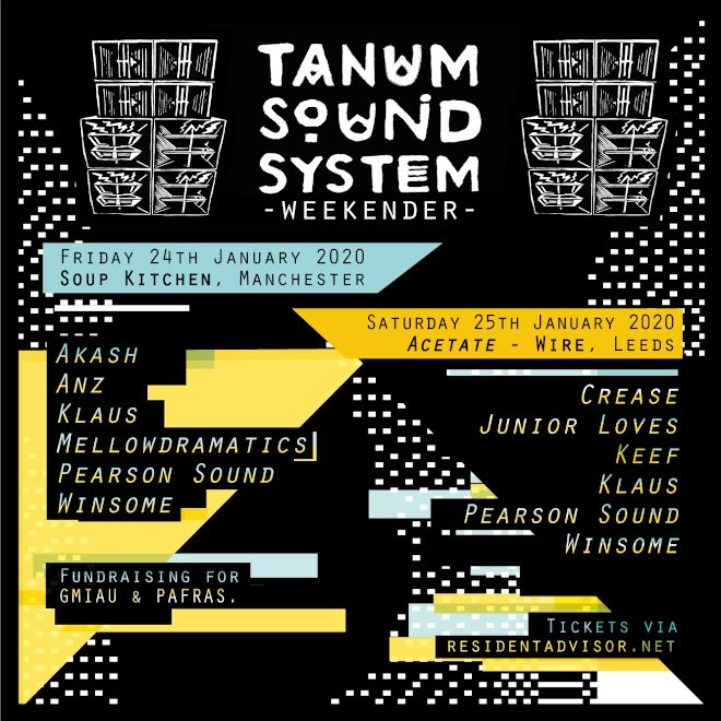 Acetate and Tanum Sound System are heading to the North in 2020