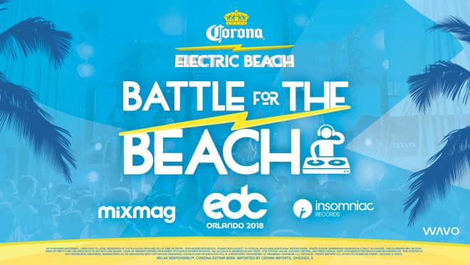 Win a DJ set at EDC Orlando from Corona Electric Beach