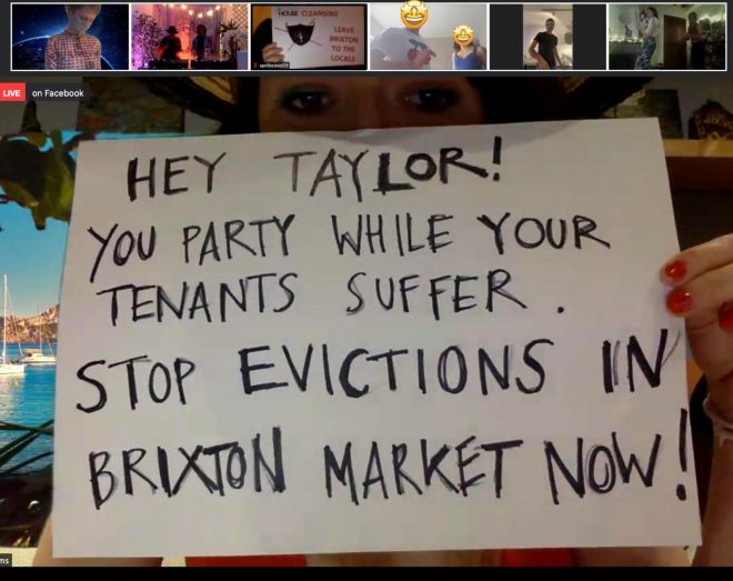 Thousands sign petition protesting Brixton Market's billionaire landlord DJ Taylor McWilliams