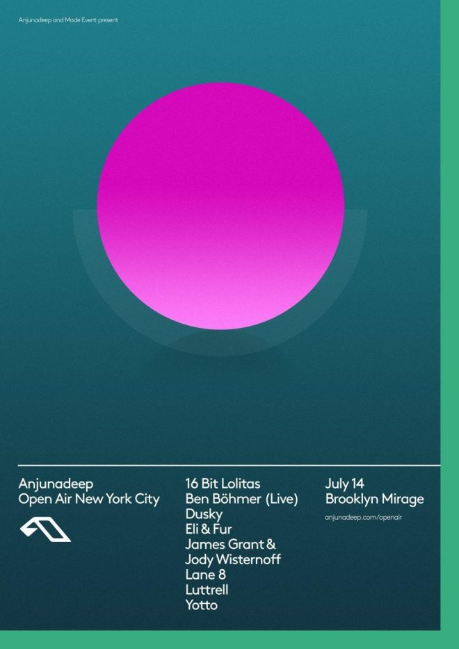 Anjunadeep brings its label favorites to The Brooklyn Mirage for sold out event