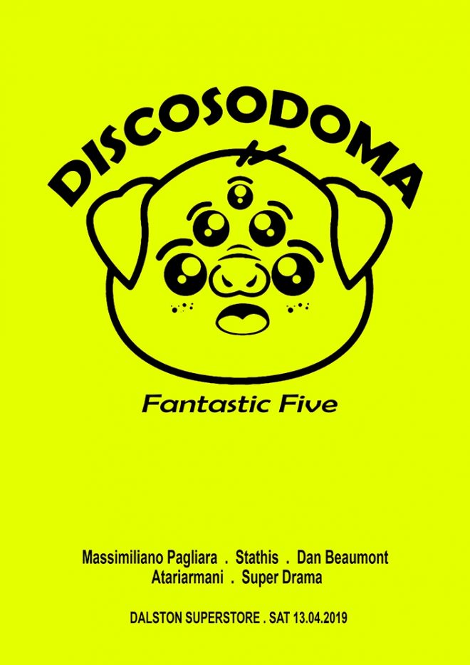 Discosodoma turns five with Massimiliano Pagliara and Dan Beamont