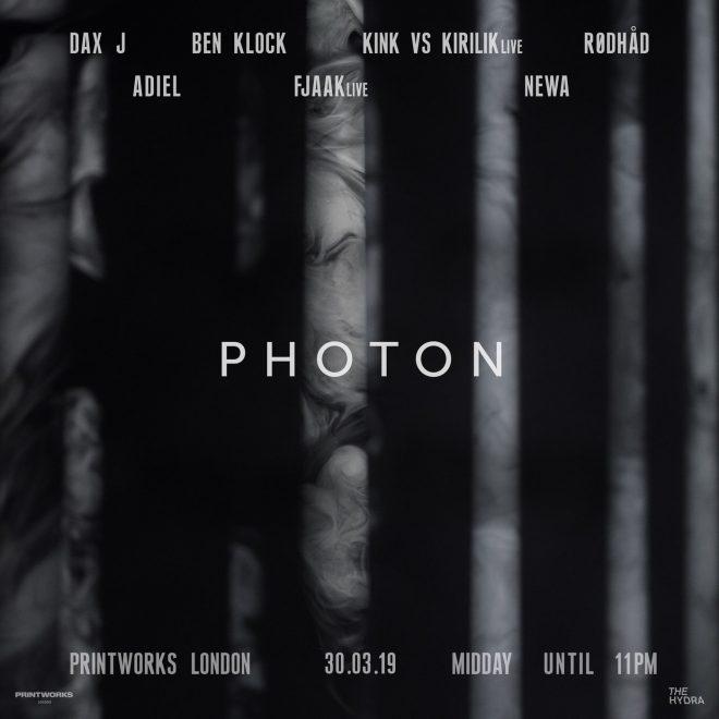 Ben Klock's Photon series is returning to Printworks