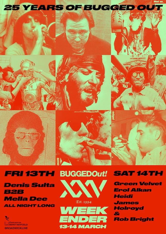 Bugged Out! is celebrating its 25th birthday at The Warehouse Project