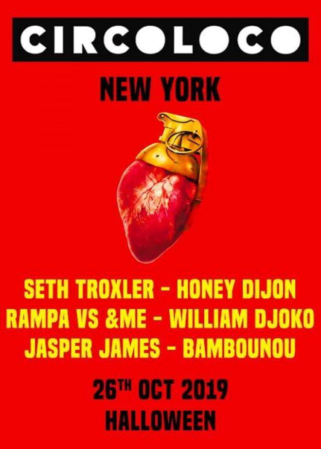 Circoloco hits NYC on Halloween with Seth Troxler, Honey Dijon and more