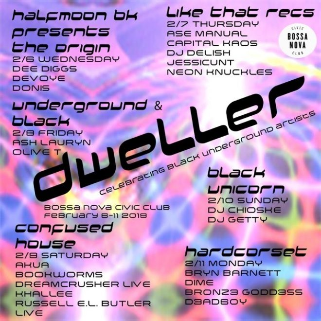 Dweller Festival celebrates black underground talent in NYC