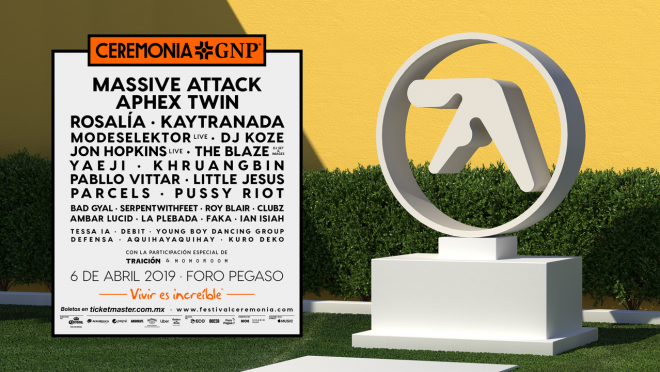 ​Aphex Twin to make his Mexico debut at Ceremonia Festival