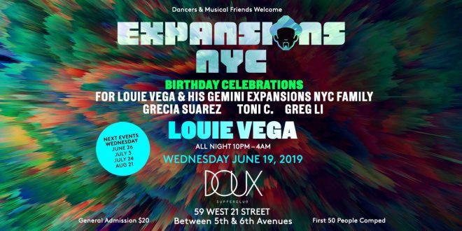 Louie Vega in The Lab NYC