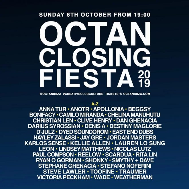 Apollonia and Nicolas Lutz to play Octan Ibiza's 12-hour closing party