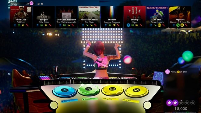 FUSER's the new interactive DJ game for your console