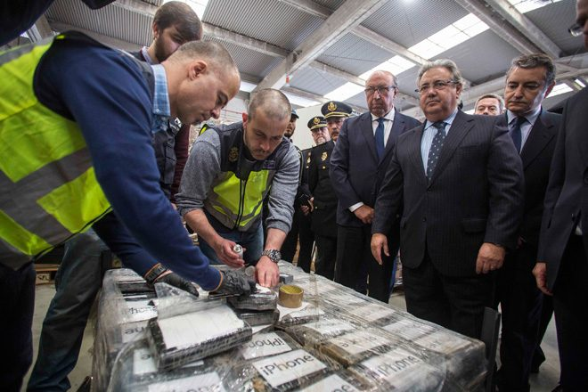Police just seized the biggest ever cocaine haul in Europe