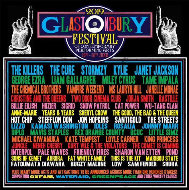 The Chemical Brothers announced for Glastonbury 2019