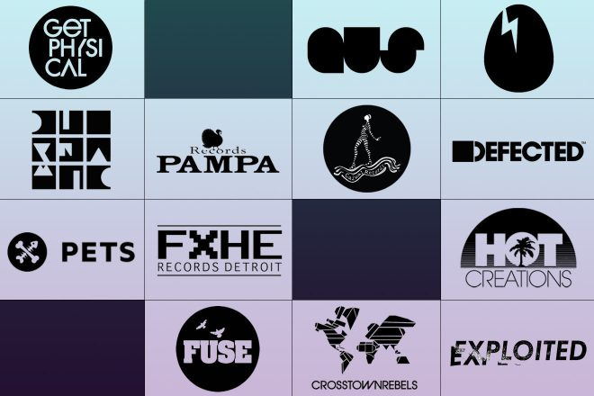 13 of the most influential house labels of the last decade