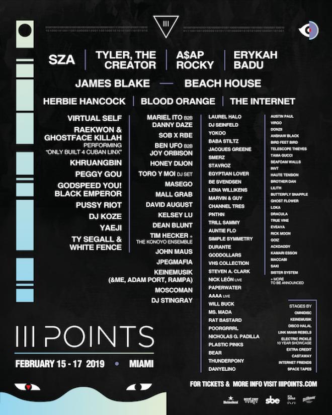 III Points Festival returns to Miami with James Blake, Peggy Gou, Yaeji, DJ Koze