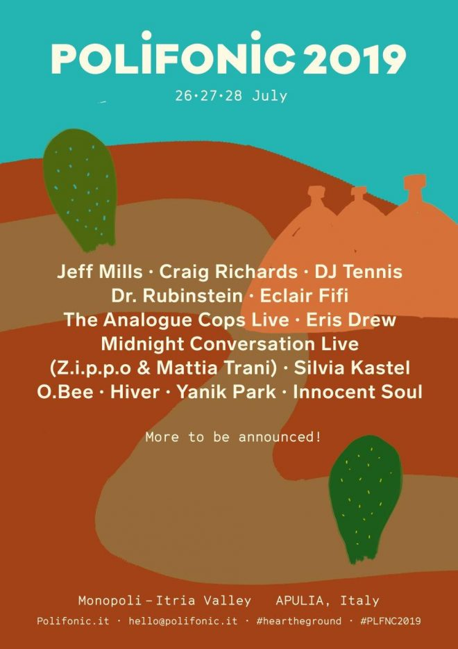 Jeff Mills, Eris Drew and Craig Richards confirmed for Polifonic 2019