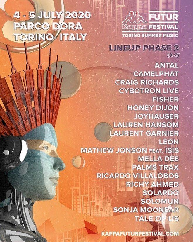 Italian techno festival KappaFutur announces final line-up