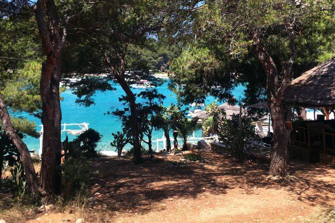 Laguna Mala hosts an underground gathering on the Adriatic Sea