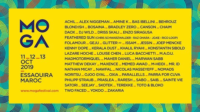 Moroccan festival MOGA announces final line-up