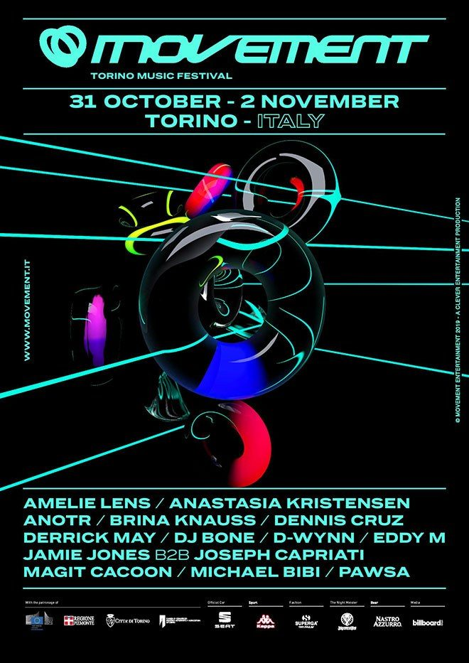 Movement Torino reveals full line-up for this year