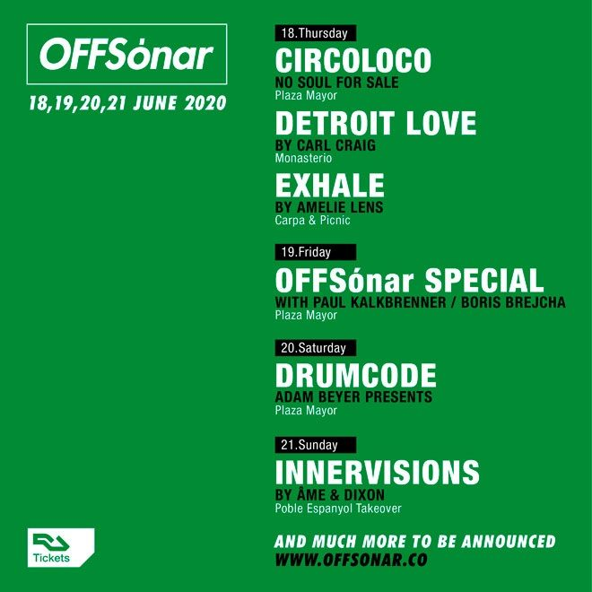 Circoloco and Amelie Lens' Exhale among showcases for OFFSónar