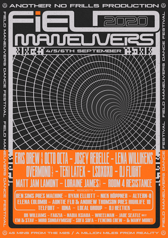 Field Maneuvers announces its first wave of acts