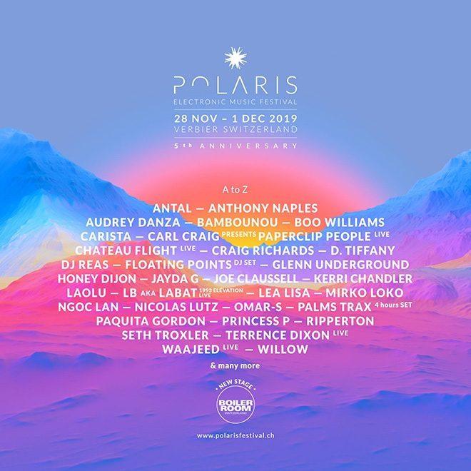 Swiss festival Polaris announces Honey Dijon, Jayda G and more