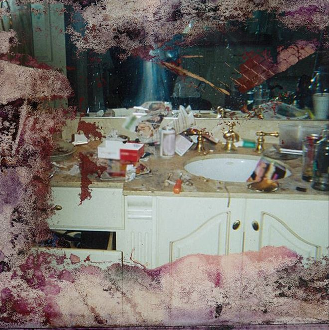 Kanye Pays $85K for Photo of Whitney Houston's Bathroom