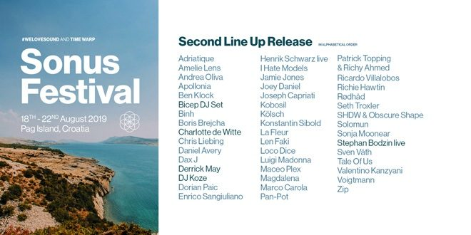 Sonus Festival unveils second phase line-up