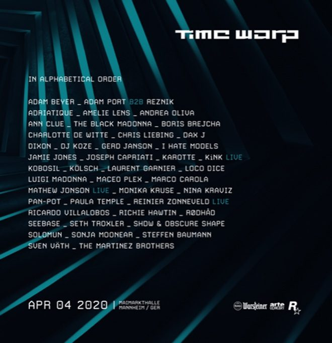 Techno festival Time Warp announces line-up