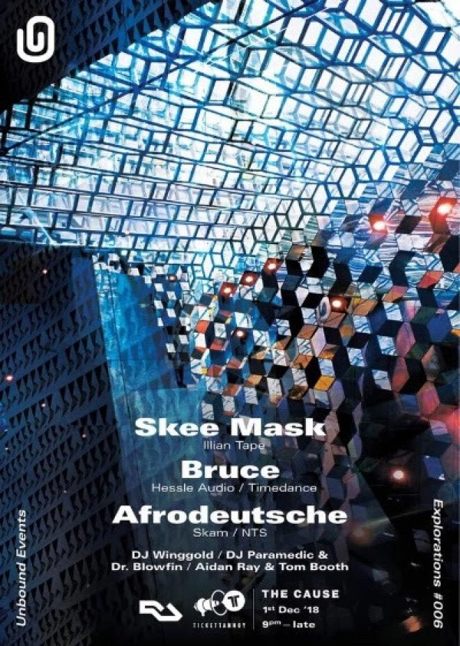 Bruce, Skee Mask and Afrodeutsche are heading to The Cause