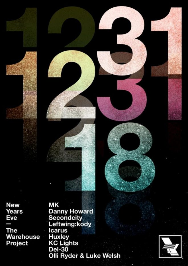 The Warehouse Project's New Year's Eve line-up is here